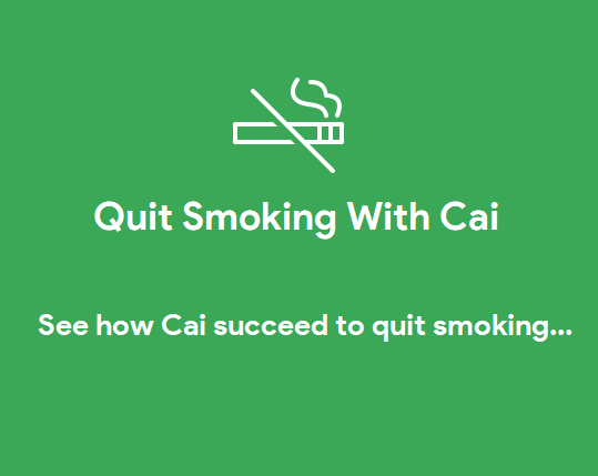 Quit Smoking with Cai(Flutter)